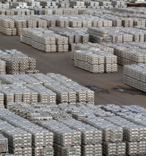 image of many stacks of ingots